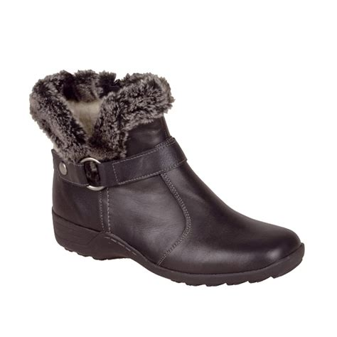 boots with fur buy remonte d0515 21 ankle boot with fur trim