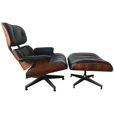 Lounge Chair And Ottoman Eames Herman Miller Eames Rosewood Lounge Chair And Ottoman At 1stdibs
