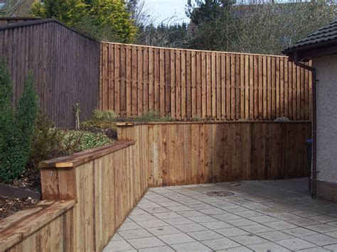 garden wall cladding garden fencing in the scottish borders edinburgh 1st