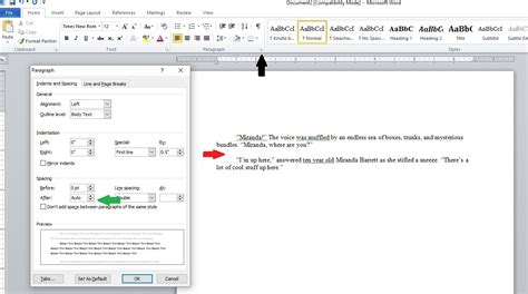 ebook manuscript format tips for formatting your book correctly in microsoft word