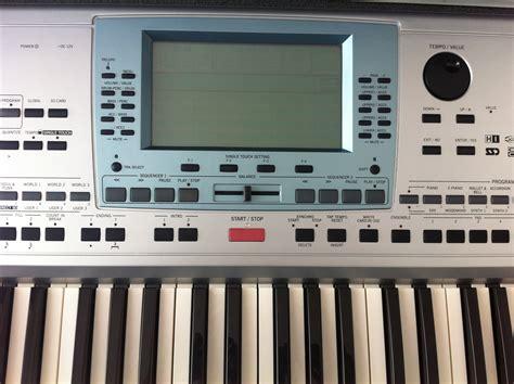 tutorial keyboard korg pa50 sd korg pa50sd image 694570 audiofanzine