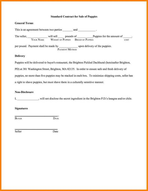 writing a contract agreement template 9 sle of agreement between two best ideas of