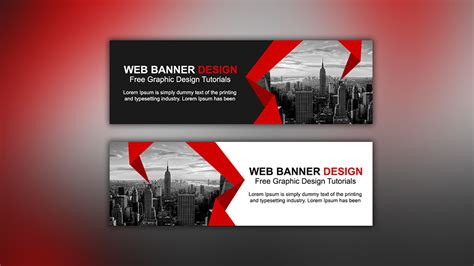 design banner online website web banner ads design tutorial in photoshop cc apple