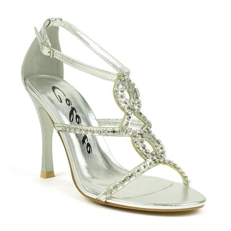 silver evening shoes charlize 02 celeste silver rhinestoned evening shoes