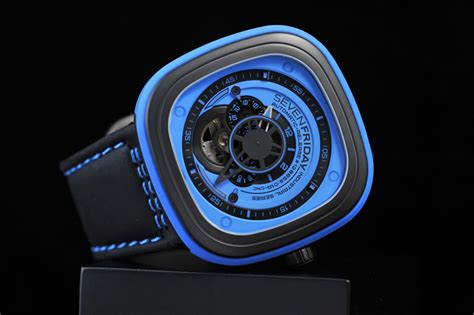 Seven Friday 8714 Leather 2 sevenfriday s new colour watches energetic attractive
