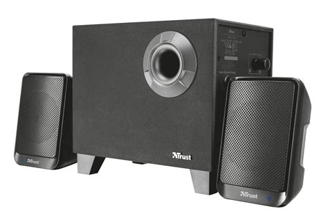 Speaker Bluetooth Untuk Laptop trust casse per pc wireless 2 1 bluetooth senza fili con subwoofer speaker set potenza 15 watt