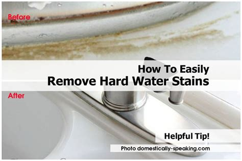 How To Remove Stains by How To Easily Remove Water Stains