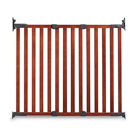 bed gate buy kidco 174 angle mount wood safeway 174 gate in cherry from