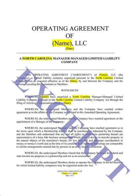 Operating Agreement Llc Cre Partnership Realcreforms Real Estate Llc Operating Agreement Template