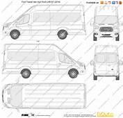 The Blueprintscom  Vector Drawing Ford Transit Van High Roof LWB
