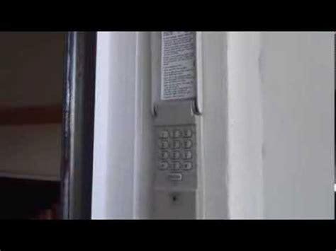 How Do You Reset Garage Door Keypad by How To Program A Craftsman Garage Door Keypad