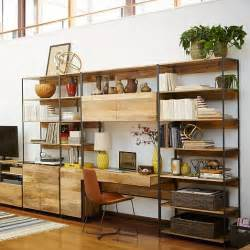 diy modular bookcase industrial modular 33 quot bookshelf west elm