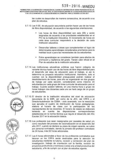 minedu tutoria 2016 rsgn 176 539 2016 minedu 29 12 2016