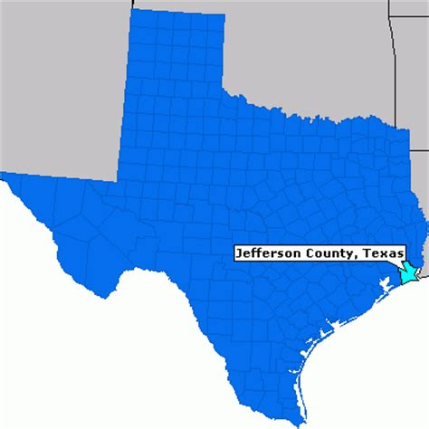 jefferson county texas map jefferson county texas county information epodunk