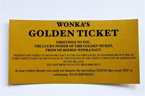 golden ticket invitation template free excellent golden ticket template free contemporary