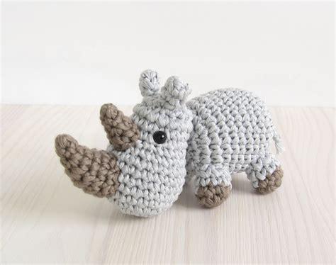 amigurumi rhino pattern pattern rhino small crocheted rhino pattern by kristitullus