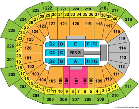 hershey center seating view center seating chart