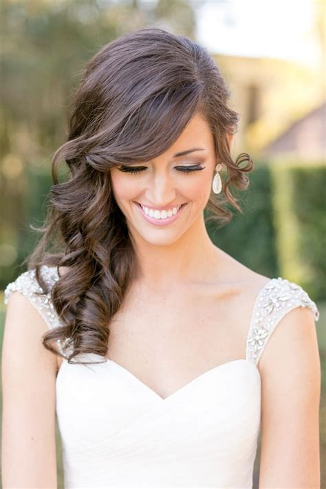 Bridal Hairstyles Side Swept Bangs by Side Swept Bangs Wedding Hairstyles Hairstyles