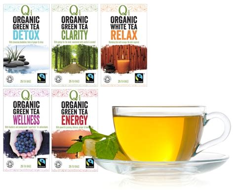 Qi Organic Green Tea Detox Benefits by Organic Green Tea White Tea Shop Qi Tea Australia