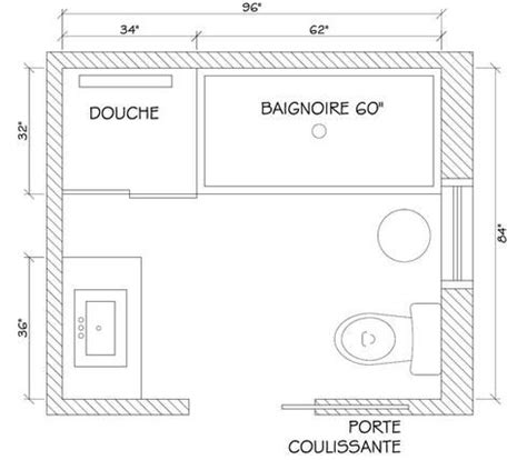 plan salle de bain 5m2 4438 25 best ideas about plan salle de bain on