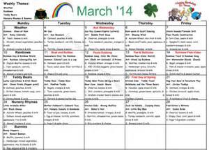 fruit of the spirit early learning sample calendar menu