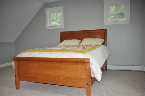 Sleigh Bed Low Footboard by Crafted Sleigh Bed With Low Footboard By Paul Mullen