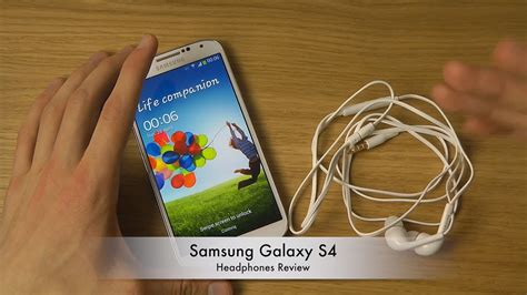 i samsung galaxy s4 samsung galaxy s4 headphones review