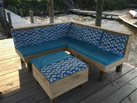 pallet patio couch wood pallet sectional patio furniture pallet furniture diy