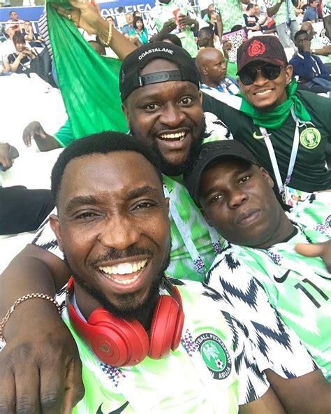 issa goal singer timi dakolo cheering the eagles