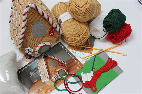 design your own gingerbread house knit and design your own gingerbread house by the little knit kit company