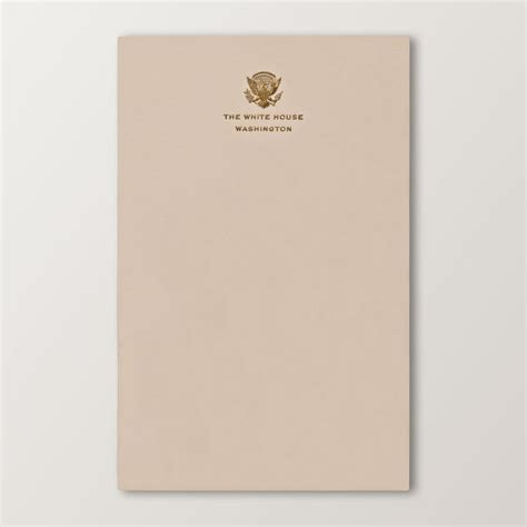 white house letterhead official white house stationery via elements of style
