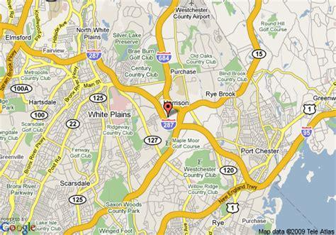 white plains new york map map of hyatt summerfield white plains purchase