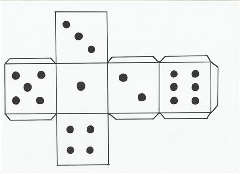 Make Your Own Dice Template How To Make A Dice Silhouette Dice Template Spanish Classroom Spanish Lessons