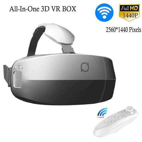 Vr 6th All In 1 Reality 3d Glasses W Blue Limited all in one 3d vr box 360 degree cardboard moive glasses sensor 5 7 quot amoled