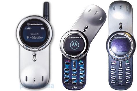 Hp Motorola V70 10 most looking phones made interesting
