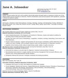 medical laboratory technician resume sample resume downloads