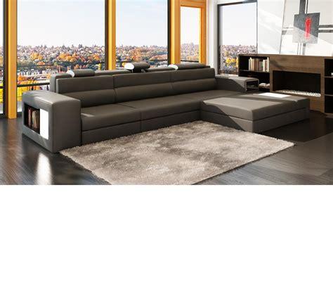 mini sectional dreamfurniture com divani casa polaris mini