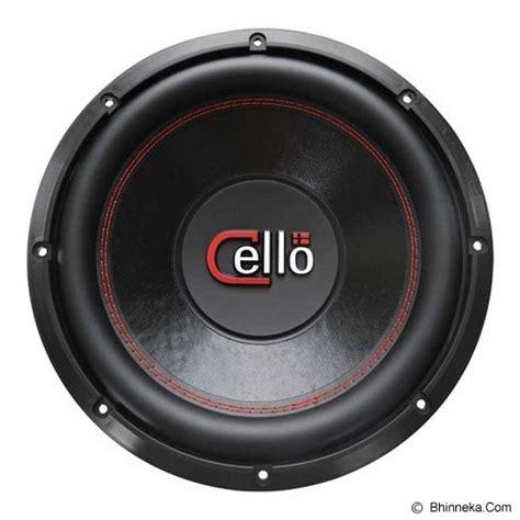 Cello S12 Dvc 4 Ohm jual cello s12 dvc 4 ohm murah bhinneka