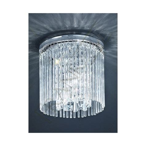 crystal bathroom ceiling light bathroom ceiling light cf5726 franklite crystal