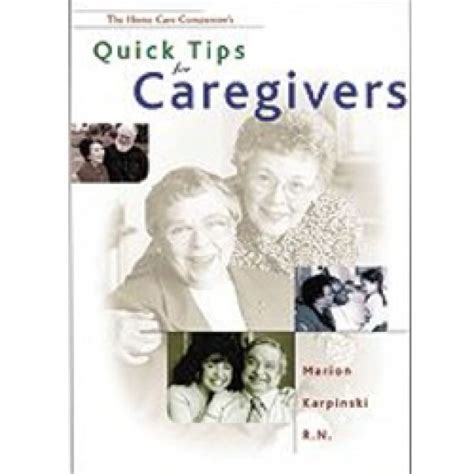 clients and their caregivers books tips for caregivers