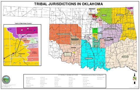 map of american tribes in oklahoma oklahoma tribal map afputra