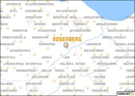 map of rosenberg rosenberg germany map nona net