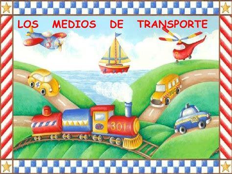 imagenes animadas medios de transporte medios de transporte presentacion