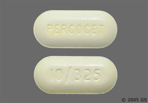 percocet tablet 10 325mg medication dosage