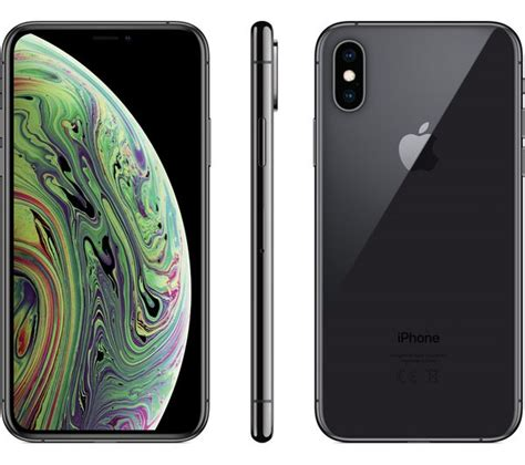 buy apple iphone xs  gb space grey  delivery currys