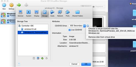 install windows 10 yosemite install windows 10 preview to vm virtualbox on yosemite 10
