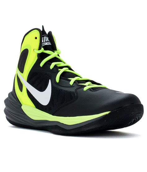 nike prime hype df black sport shoes price in india buy