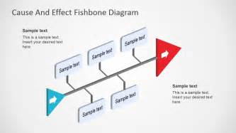 3d fish template fishbone diagram template 3d perspective slidemodel