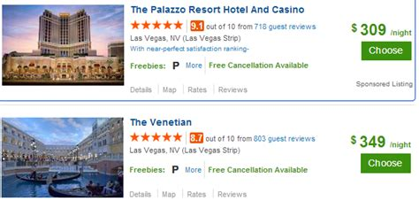 Las Vegas Search New Travelocity Hotel Deals Promotions And Coupon Codes 2016