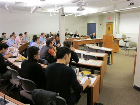 Nyu Mba Class Visit by Michael Price Student Investment Fund